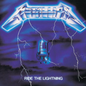 Ride The Lightning by METALLICA album cover