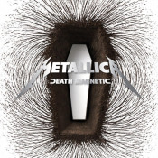 Death Magnetic by METALLICA album cover
