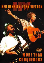 More Than Conquerors (with John Wetton) (DVD) by HENSLEY, KEN album cover