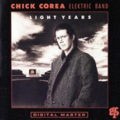 Light Years by COREA ELEKTRIC BAND, CHICK album cover
