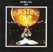 Live - Bursting Out by JETHRO TULL album cover