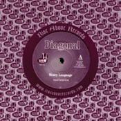 Heavy Language (Black Sparkle) by DIAGONAL album cover