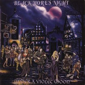Under A Violet Moon by BLACKMORE'S NIGHT album cover