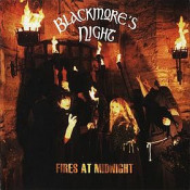 Fires At Midnight by BLACKMORE'S NIGHT album cover