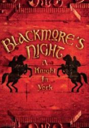 A Knight In York by BLACKMORE'S NIGHT album cover