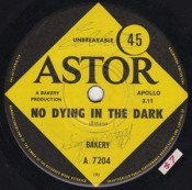No Dying in the Dark by BAKERY album cover