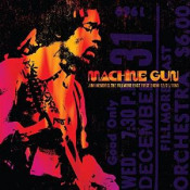 Machine Gun: The Fillmore East First Show 12/31/1969 by HENDRIX, JIMI album cover