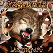 Lycanthrope by MANGALA VALLIS album cover
