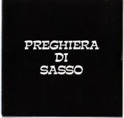 Preghiera di Sasso by PREGHIERA DI SASSO album cover