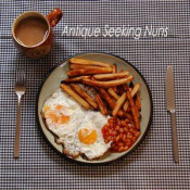 Double Egg With Chips And Beans by ANTIQUE SEEKING NUNS album cover