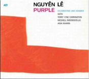 Purple (Celebrating Jimi Hendrix) by NGUYÊN LÊ album cover