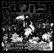 Det Har Aldrig Hänt Och Kommer Aldrig Hända Igen by KLOTET album cover
