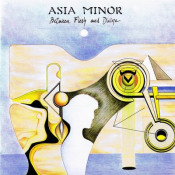 Between Flesh And Divine by ASIA MINOR album cover