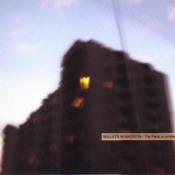 The Panic In Amber Blue by BULLETS IN MADISON album cover