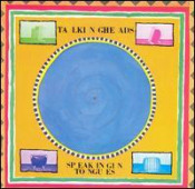 Speaking In Tongues by TALKING HEADS album cover