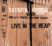 Live In The Head by YOSHIDA, TATSUYA album cover