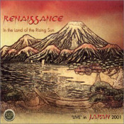 In The Land Of The Rising Sun by RENAISSANCE album cover