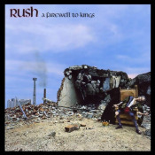 A Farewell To Kings by RUSH album cover