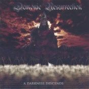 A Darkness Descends by DEMONIC RESURRECTION album cover
