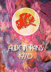 Alive in Paris-1970 by SOFT MACHINE, THE album cover