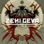 Alive And Rising by ZENI GEVA album cover