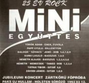 Jubileumi koncert - 25 év Rock by MINI (TÖRÖK ÁDÁM & MINI) album cover