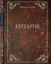 Epitaphe by GENS DE LA LUNE album cover