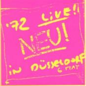 Neu! '72 Live! In Düsseldorf by NEU! album cover