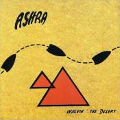 Walkin' The Desert by ASHRA album cover