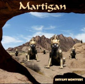 Distant Monsters by MARTIGAN album cover