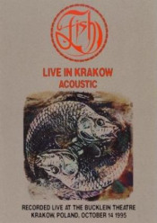 Live In Krakow - Acoustic by FISH album cover