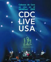 CDC Live USA by CABEZAS DE CERA album cover