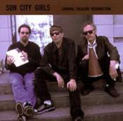 The Handsome Stranger (Carnival Folklore Resurrection vol. 8) by SUN CITY GIRLS album cover
