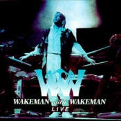 Wakeman with Wakeman Live by WAKEMAN, RICK album cover