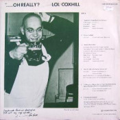 The Story So Far... ...Oh Really? by MILLER & COXHILL album cover