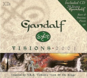 Visions 2001 (with bonus CD: Rare & Precious Pieces - 20 Years Of Gandalf) by GANDALF album cover