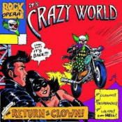 The Return of the Clown by CRAZY WORLD album cover