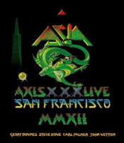 Axis XXX Live in San Francisco by ASIA album cover