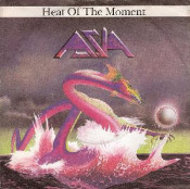 Heat of the Moment by ASIA album cover