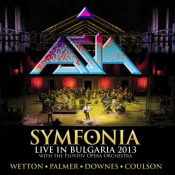 Symfonia - Live in Bulgaria 2013 by Asia album rcover