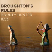 Bounty Hunter 1853 by BROUGHTON'S RULES album cover