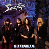 Streets - A Rock Opera by SAVATAGE album cover