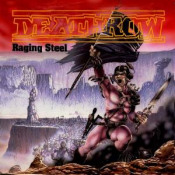 Raging Steel by DEATHROW album cover