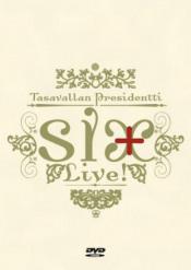 Six + Live! by TASAVALLAN PRESIDENTTI album cover