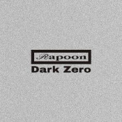 Dark Zero by RAPOON album cover