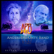 Better Late Than Never by ANDERSON PONTY BAND album cover